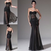 Wholesale Sexy Black Cocktail Dress Party Formal Evening Ball Prom Dresses Wedding Gown