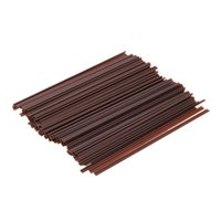 Wholesale 500pcs set Disposable Coffee Straws Drinking Straw Two Holes Hot Drinks Stirring Rods