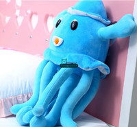 big blue octopus - Dorimytrader New Toy cm Big Stuffed Soft Plush Cute Animal Octopus Toy Nice Birthday Gift For Kids DY60380