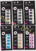 best nail wraps - Best Sell Mix Design Full Nail Wrap Styles D Rhinestone Series Nail Sticker Fashion Nail Art Image Stickers X022