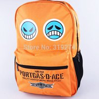 ace laptop - Retail FS One Piece POP Trafalgar Law Chopper Laptop Ace Backpack Rucksack Fashion Bags Cosplay
