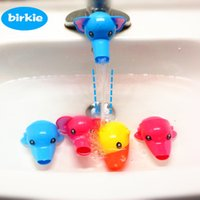 Wholesale Happy Fun Cartoon Animals Faucet Extender Baby Children Kids Washing Hand Helper Bathroom Sink Toddler Water Tap Spout Water Guiding Gutte