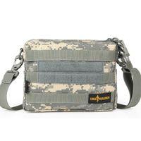 Wholesale High quality EDC messenger bag military single shoulder bag MOLLE tactical waist pack Cordura D nylon YKK zipper