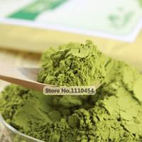 al por mayor tés verdes orgánicos-Premium 250g China Matcha té verde en polvo 100% natural adelgazante orgánico Matcha té pérdida de peso alimentos en polvo de té verde