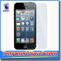 Wholesale Proof Tempered Glass Screen Protector For Samsung Galaxy S5 i9600 S6 S6 edge NOTE3 Iphone Package