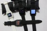Ebook blanc Prix-Livraison gratuite de haute qualité MP4 Watch Factory Vente directe Blanc ou Noir 8GB MP4 Player Watch, Mp4 Regarder l'examen avec ebook