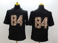 Wholesale MV Black Salute to Service Jersey Wide Receiver Impact Limited American Football Jersey for Men Cheap Stitched Uniform HOTTEST SALE