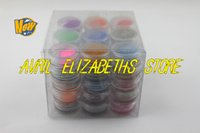 art minerals - COLOUR PARTY Nail Art Glitter Dust Eyeshadows BODY PIGMENT Powder Natural mineral powder manicure pc