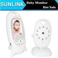 Wholesale Digital Baby Video Monitor Inch LCD Screen Wireless Baby Camera Monitors Way Audio Night Vision Temperate Babysitter Baba Eletronica