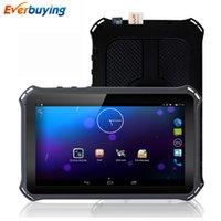 Wholesale New quot HD Android Car dvrs Recorder Camcorder G phone calls Bluetooth Car GPS Navigation Tablet PC MT8312 GB GB