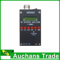 Wholesale High quality Mini60 HF ANT SWR Antenna Analyzer sark100 For Ham Radio Hobbists Mhz