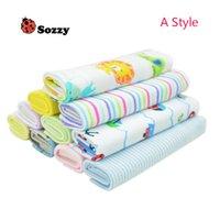Wholesale 8pcs Baby Washcloth Towel Cotton Saliva Towel Nursing Towel Feeding Towel Wash Cloth Cute Baby Handkerchief