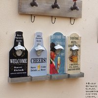 american metal homes - American Country Vintage Stainless Steel Automatic Bottle Opener Beer Cap Bottle Opener Wall Storage Home Decor