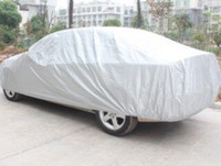 Wholesale Code L XL XXL Full Car Cover Breathable UV Protection Outdoor Indoor Shield car covers with reflective strips and coded lock Anti theft