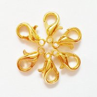 antique nickel - 6x10MM Hot Slae Silver Gold Nickel Antique Bronze Plated Lobster Clasp for Necklace Clasp Closure