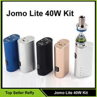 Wholesale 100 Original Jomo Lite w Jomo watt E cig Box Mod Lite w vapor mod kit ml Vaporizer VS Kanger Kbox W