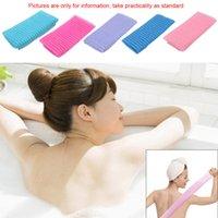 body wash - Exfoliate Puff Sponge Mesh Scrub Scrubber Scrubbing Towels Clothing Nylon Mesh Bath Shower Body Washing Cleaning Brushes H14530