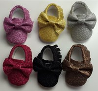 band caterpillar - Christmas bow sequined elastic band can not afford baby casual toddler shoes baby products caterpillar kid sneakers moccasins pair