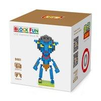 best avatars - LOZ Big gift box Avatar man block Best Gift For kids LOZ Diamond Blocks Loz d Blocks Toys birthday for boys girls