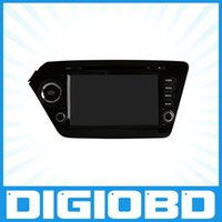 dvd player - New inch car dvd player for KIA K2 Din Android Quad Core Car dvd player for Corolla Multimedia gps Navigation OL S8731 K2