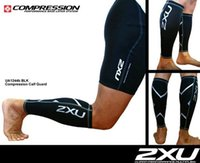 Wholesale XU Fitness Compression Leg Sleeves Calf Guard Men and Women Sport Soccer Basketball Running Cycling Leg Protect Leggings