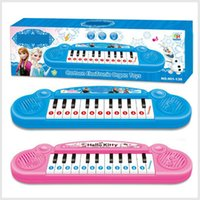 Wholesale Musical instruments toy for kids girl Cartoon electronic organ toy keyboard electronic baby piano with music song Education1704007