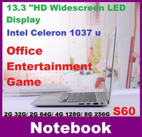 Wholesale NEW inch laptop computer intel Celeron U GHZ Dual Core GB GB windows camera laptop notebook Resolution HDMI