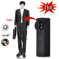 Wholesale Mini Spy DV Camera Button Video PC DVR Voice recorder DVR