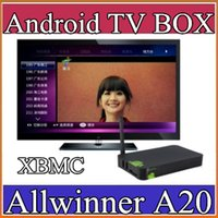 Cheap SH XBMC LOW Price High Quality Allwinner A20 Dual Core Hot Sell Cheapest Dual Core Google Tv Player Smart Android TV BOX 1GB 4GB 1-2DH