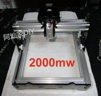 2000mw laser - New Arrival mw Large Area Mini DIY Laser Engraving Engraver Machine Laser Printer Marking Machine