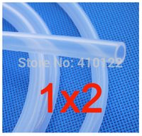 Wholesale 1x2mm Transparent Silicone Rubber Water Pipe Medical Use Silicone Hose Garden Hose Reels