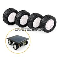 for spare parts for car - 4pcs mm Car Spare Parts Tires Wheels Part Model Robot Part for DIY Remote control Toys Tires RC Car New