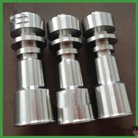 Wholesale Universal Domeless Titanium Nail mm mm Titanium nail domeless Direct inject design fits both mm male glass joints mm male glass Nail