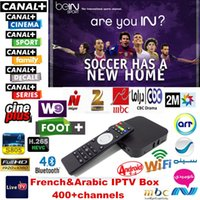 arte sport - Quad Core S805 Android Arabic French IPTV Box Live TV channels HD Set Top Box Bein Sky Sports MBC French Canal Cine Arte