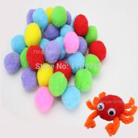 wholesale bendaroos - 2015 hot bendaroos Plush ball fur ball mm30 root handmade child diy material diy children creative handmade