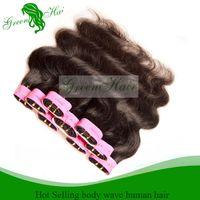 Cheap Cheap Hair! 6 Bundles Lot 12-28 inch 100% Brazilian Virgin Hair Human Hair Weave Wavy Body Wave Natural Color Hair Extensions Free Shipping