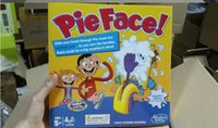 Wholesale Korea Running Man Pie Face Game Pie Face Cream On Her Face Hit The Send Machine Paternity Toy Rocket Catapult Game Consoles