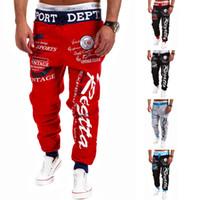 jogging pants - 2015 Newest Fashion Emoji Jogger Men Pants Sport Black Jogging Cartoon Pants Mens Harem Sweatpants Trousers jordan joggers