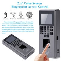 Wholesale Biometric Fingerprint lector de huellas Keypad Door Access Control And Time Attendance Terminal Color Screen quot TFT USB LCD