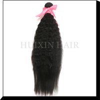Wholesale remy hair weave bundles per yaki straight hair Brazilian hair virgin natural hair weaves for black women
