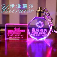 ball ideas - Tourism souvenir custom logo Key chain Laser engraving Crystal car key chain meeting gift ideas Graduation souvenir Corporate