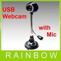 Wholesale 35pcs RA USB Webcam Camera with Mic for Laptop PC MSN Skype VOIP Digital Zoom MP