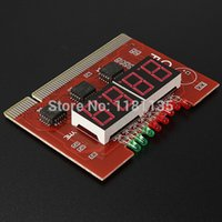 Wholesale High Quality PC Digit Code Diagnostic Analyzer Motherboard Diagnostic Analyzer Tester PCI Card With Instruction