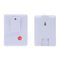 Wholesale Wireless Infrared Sensor Doorbell Monitor Detector Entry Door Bell Alarm Chime Welcome Device order lt no track