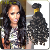 Brazilian Hair product - Youtube Review Products Grade A Indian Malaysian Peruvian Brazilian Virgin Hair Loose Curly Human Hair Weave More Loose Extensions