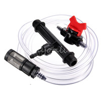 Wholesale Best Prcice inch Black Irrigation Venturi Fertilizer Kit Mixer Injectors Water Tube Switch Filter Ozone Mixer Hot Tub SPA