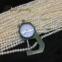 Wholesale Beads Pearl Jewelry mm Natural Freshwater Cultured Pearls Loose Beads Small Pearl Necklace Bracelet Round Potato cm diy
