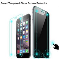 technology - New Technology mm D Mobile Phone Smart Touch Tempered Glass Screen Protector for Iphone6 inch Virtual keys