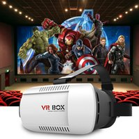 """For Android 3.5 Included Head Mount VR BOX Version VR Virtual Reality Glasses Rift Google Cardboard 3D Movie for 3.5"""" - 6.0"""" Phone DHL Free OTH161"""