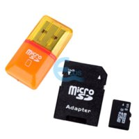 Wholesale 8GB G Class Micro SD TF Memory Card With SD Card Adapter Mini Card Reader
